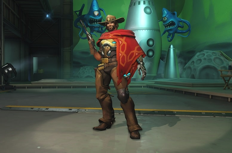 How did McCree lose his arm