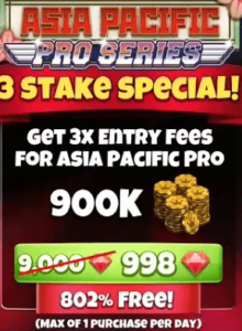 3 stake special
