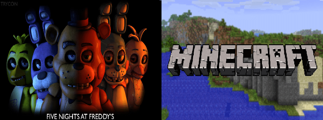 five nights at freddy's vs minecraft