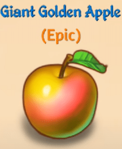 giant golden apple