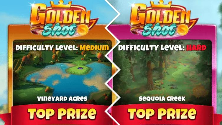 golden shot golf clash