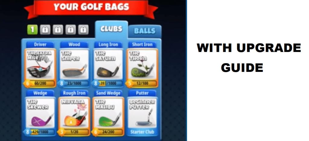 golf clash best clubs