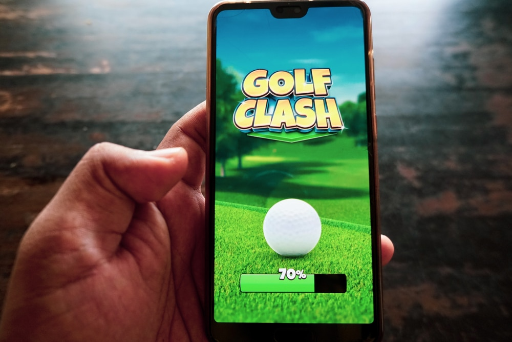 is golf clash rigged