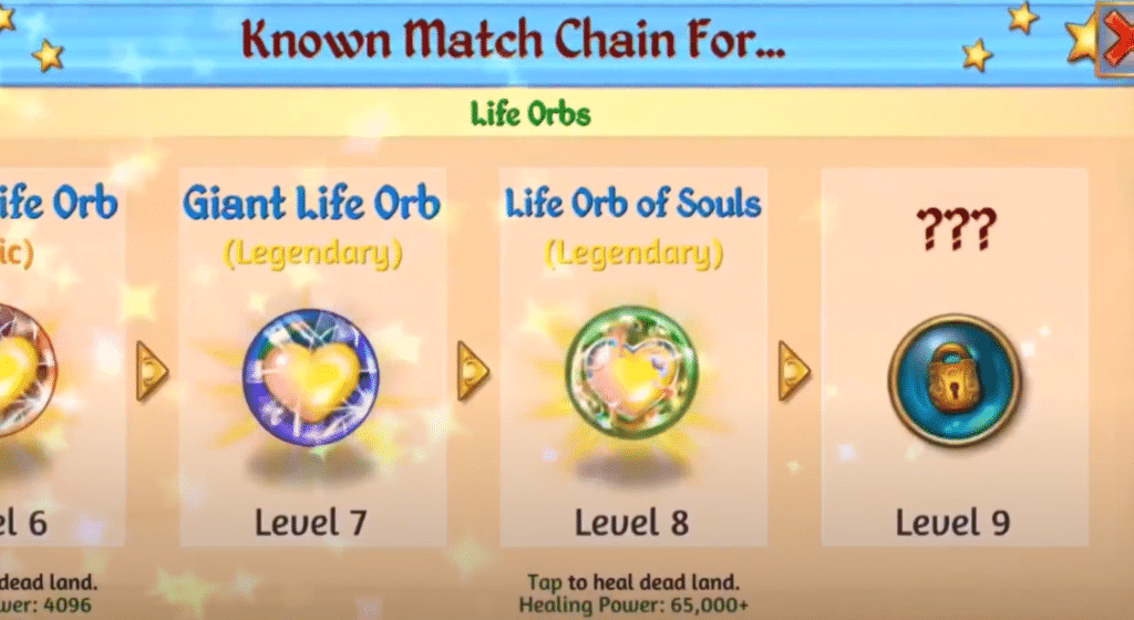 life orbs