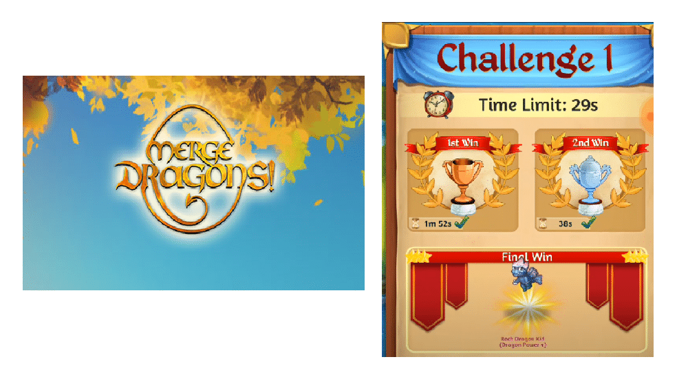 merge dragons challenge 1