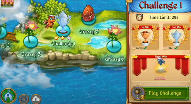 merge dragons challenge levels