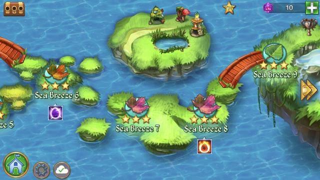 merge dragons map
