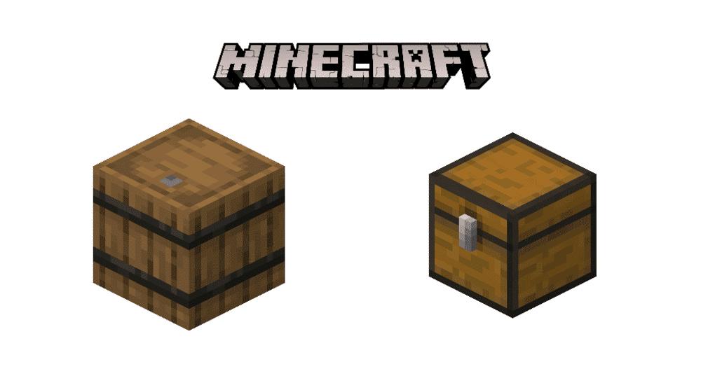 minecraft barrel vs chest