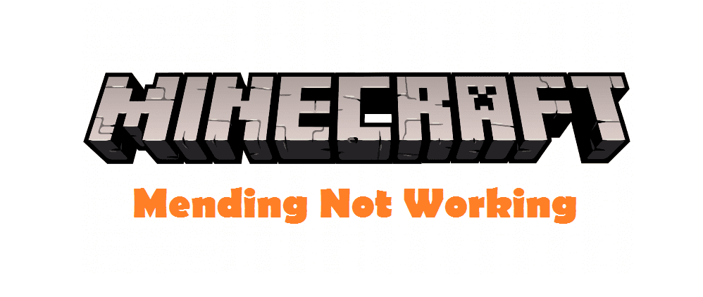 Mending Not Working In Minecraft How To Fix West Games I was wondering if this enchantment is restricted to certain types of equipment because i tried to put it on my vile sword, ruby sword & steel sword but i. mending not working in minecraft how