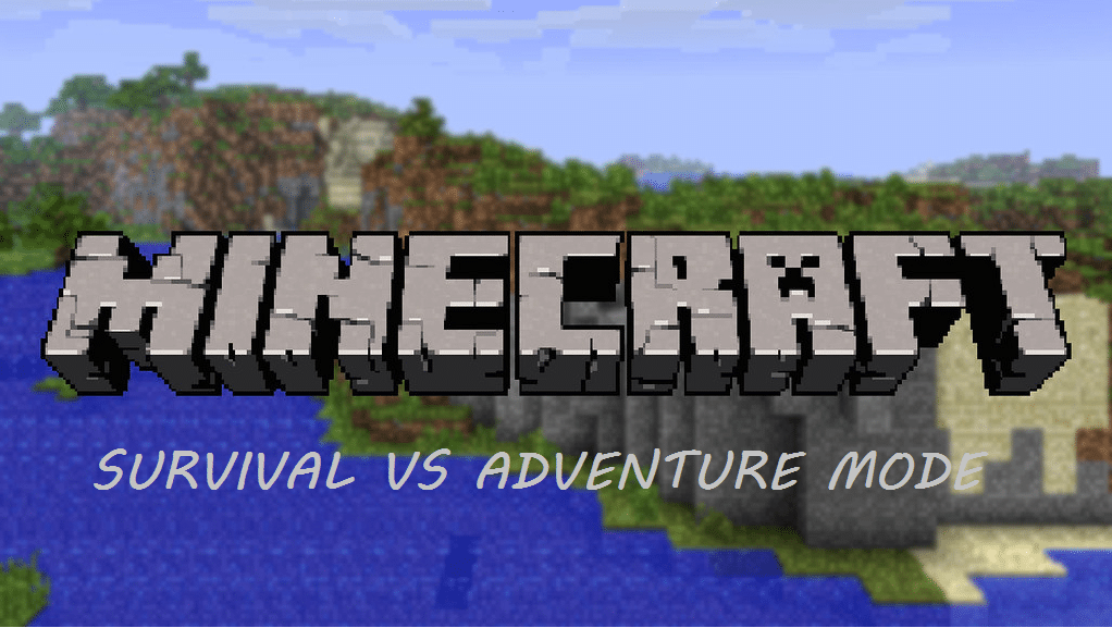 minecraft survival vs adventure