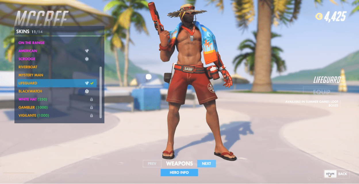 overwatch lifeguard mccree