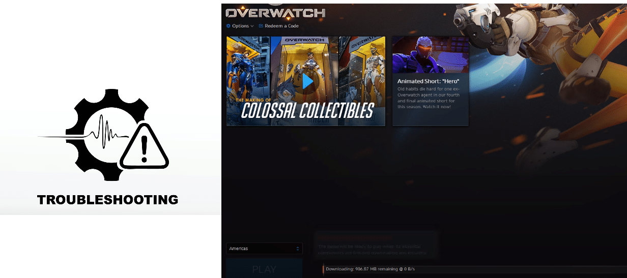 overwatch update slow