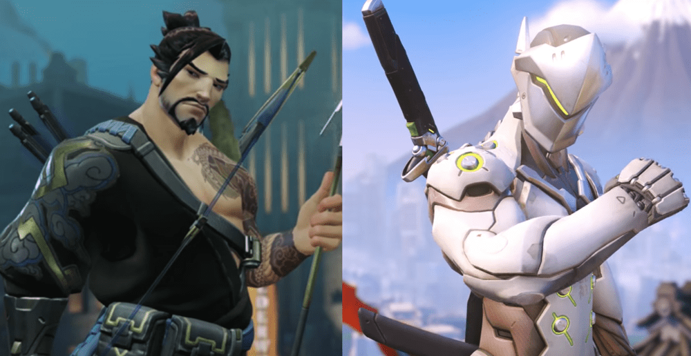 overwatch what did hanzo do to genji