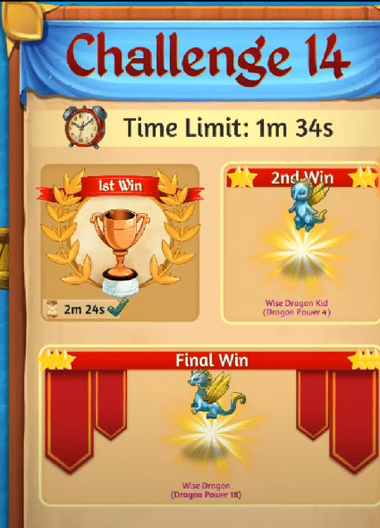 challenge level 14