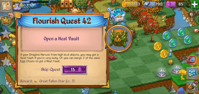 flourish quests