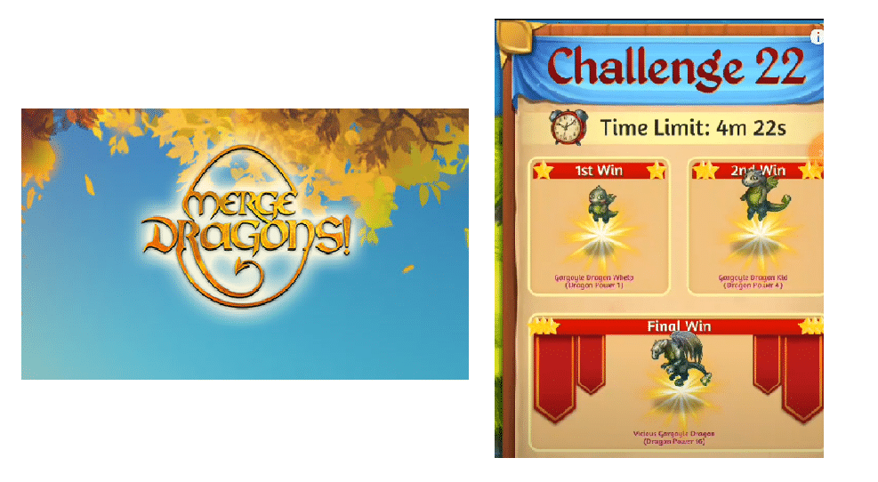 merge dragons challenge 22