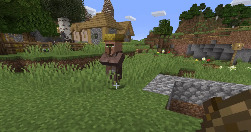 how to lure villagers