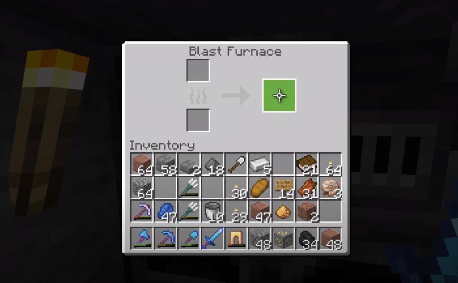 minecraft blast furnace not working