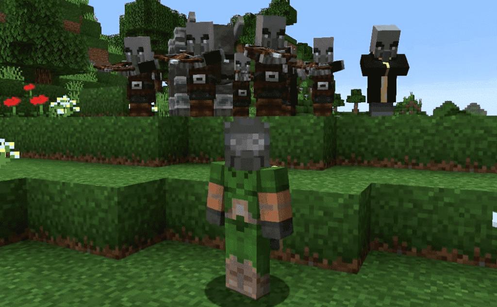 minecraft raid not ending