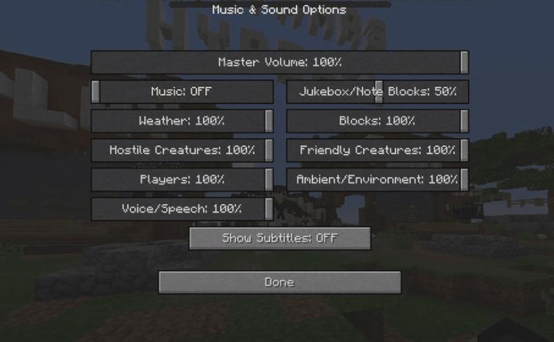 Minecraft Sound Not Coming Through Headphones
