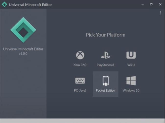 universal minecraft editor not working