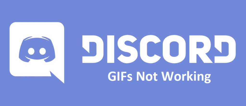 discord gifs not working