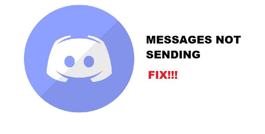 discord messages not sending