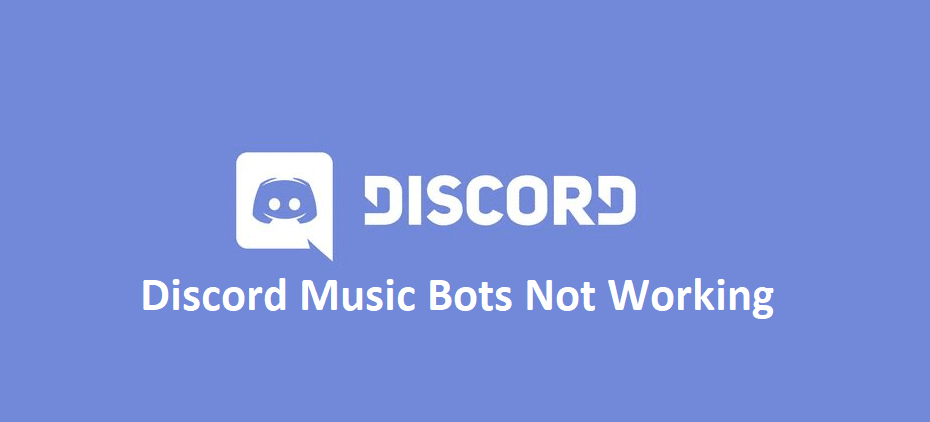 discord music bots not working