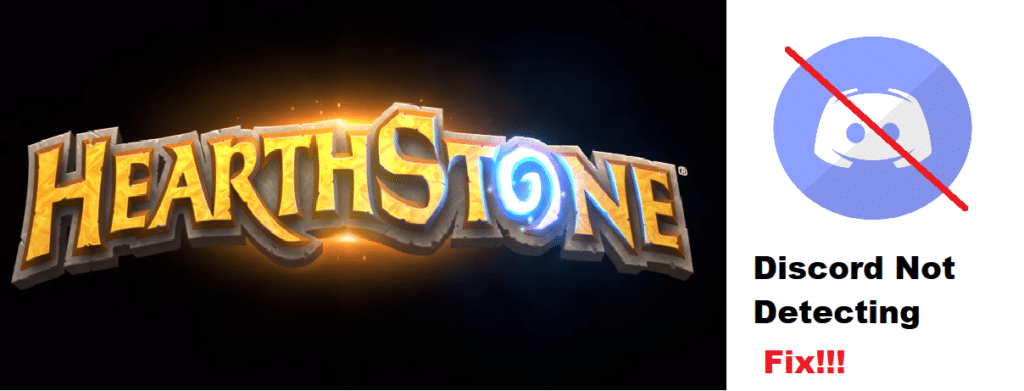discord not detecting and not working with hearthstone