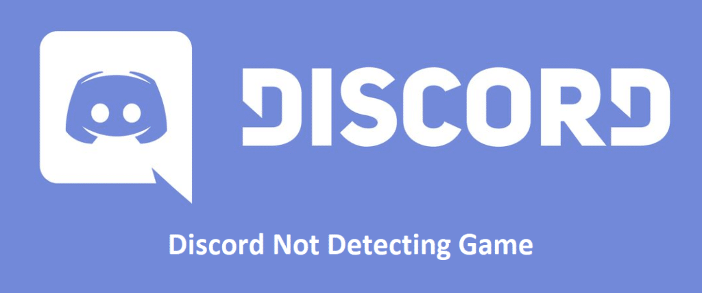 discord not detecting game