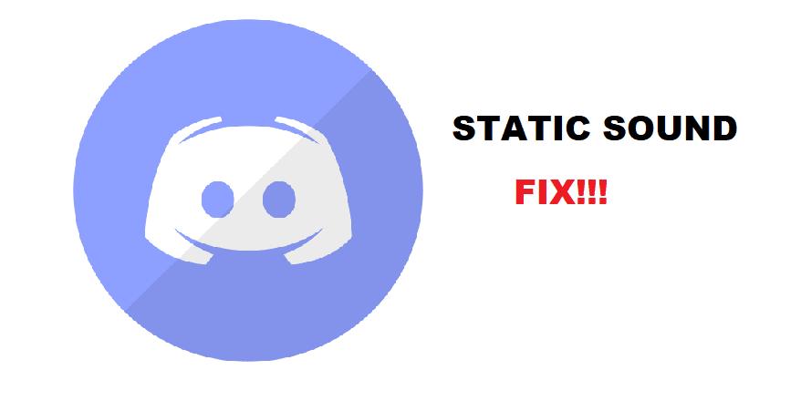 discord static sound