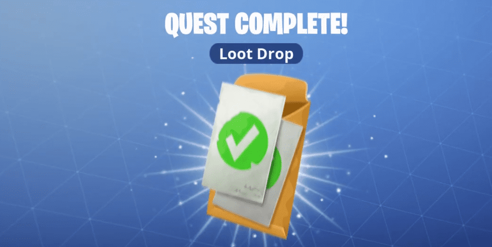 fortnite loot drop quest