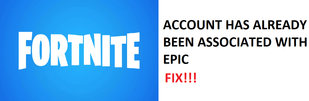 2 Ways To Fix Fortnite Your Psn Account Has Already Been Associated With Another Epic Games Account West Games