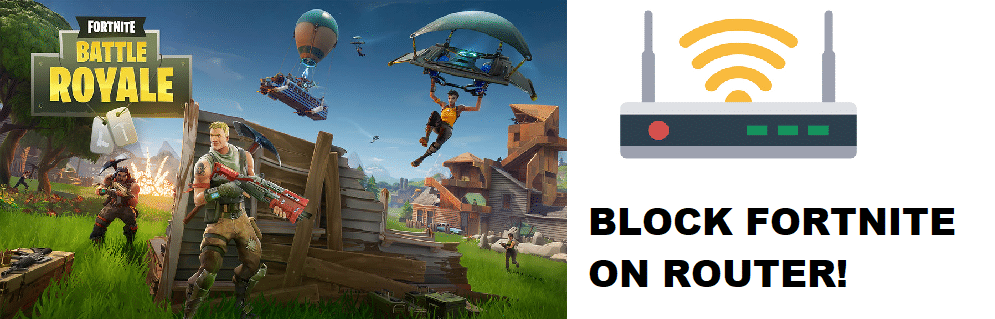 how to block fortnite on router