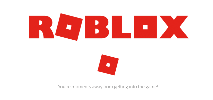 roblox you're moments away from getting into the game