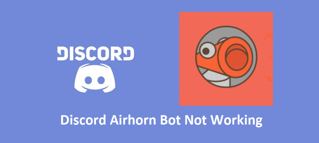 discord airhorn bot not working