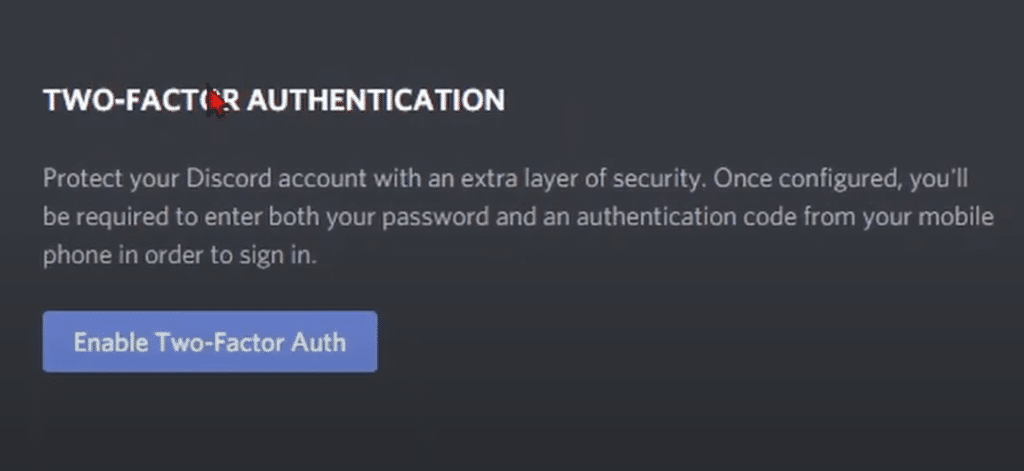 discord authenticator not working