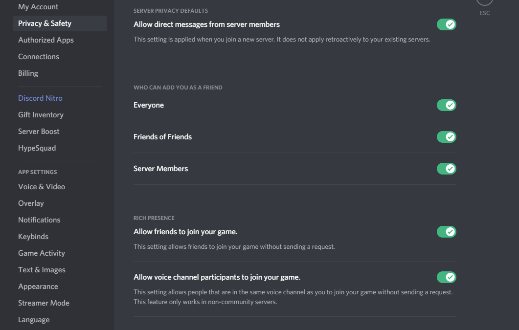 discord friend request not working