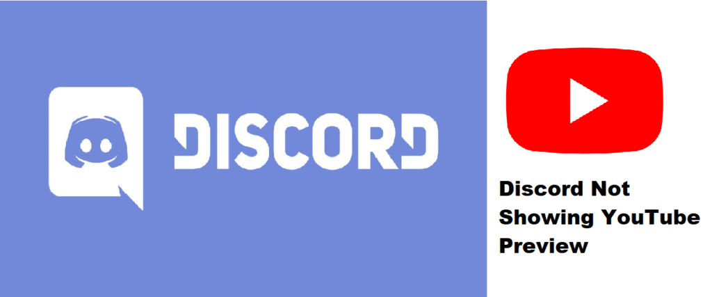 discord not showing youtube preview