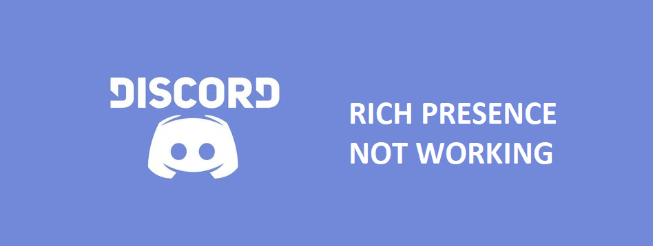 discord rich presence not working