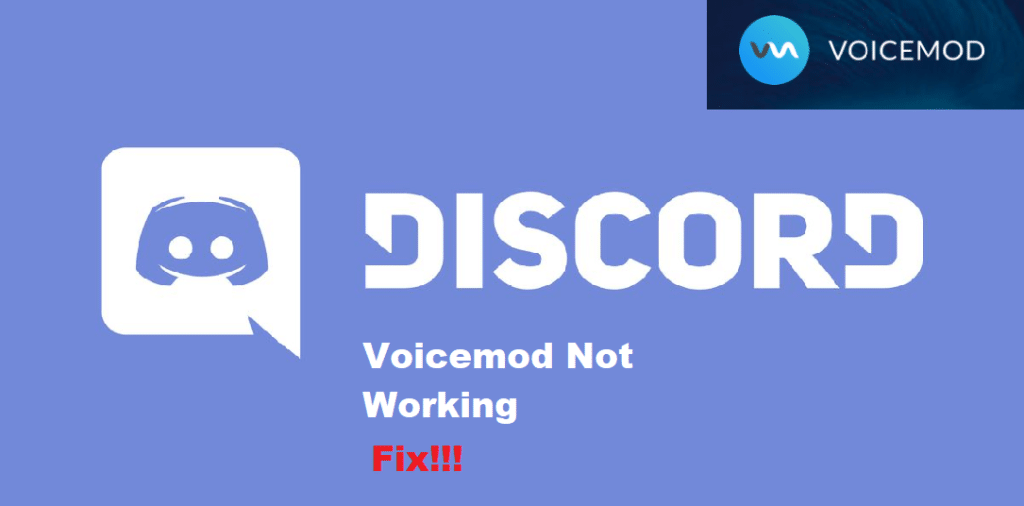 voicemod not working discord