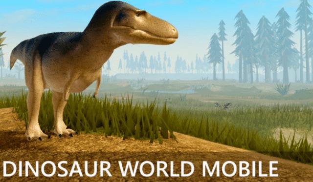 dinosaur world mobile