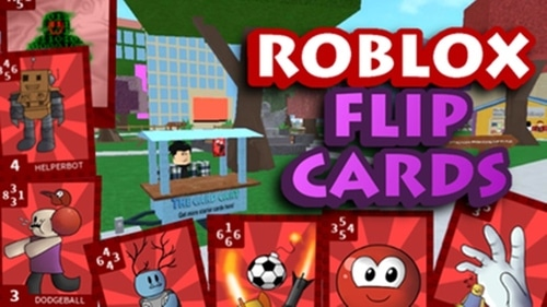 roblox flip cards