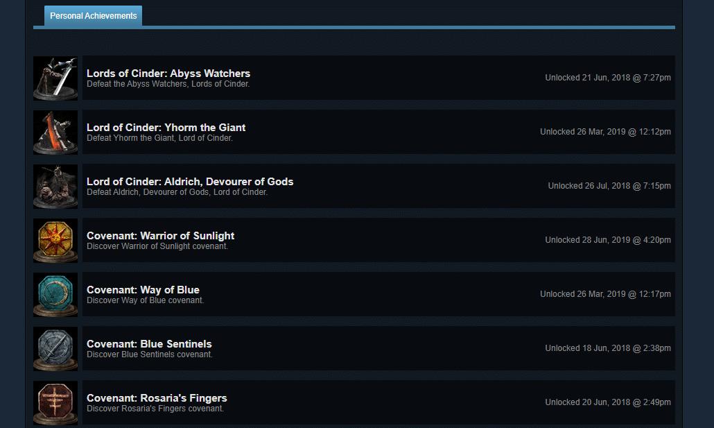 steam achievements not unlocking