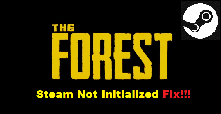steam not initialized the forest