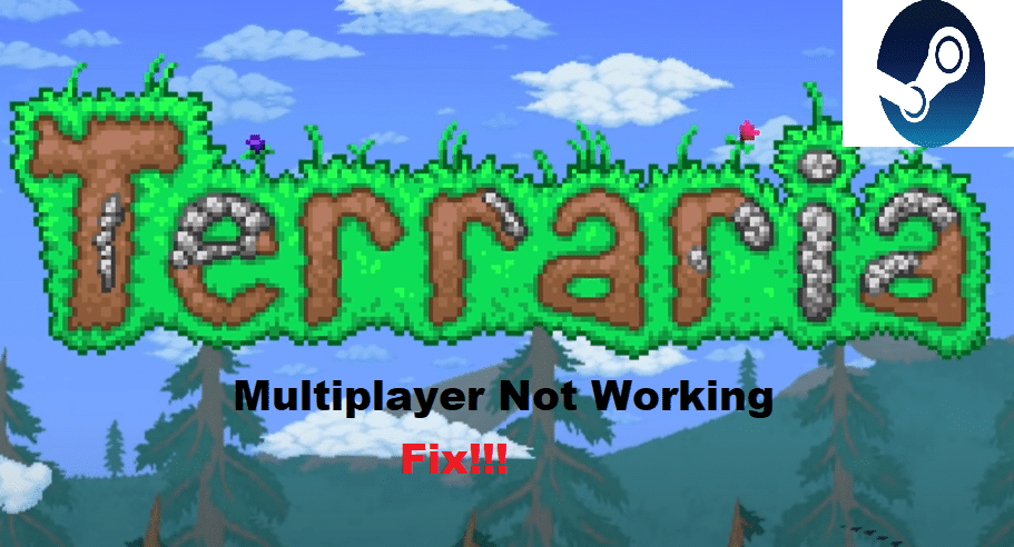 terraria steam multiplayer not working