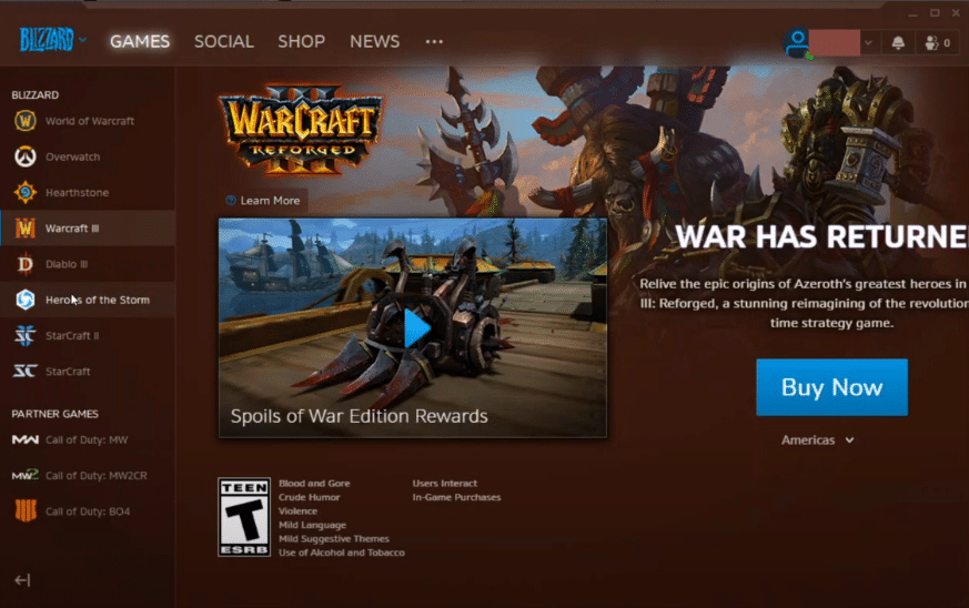 battlenet says game is running WoW