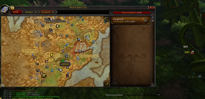 bonus objectives not showing WoW