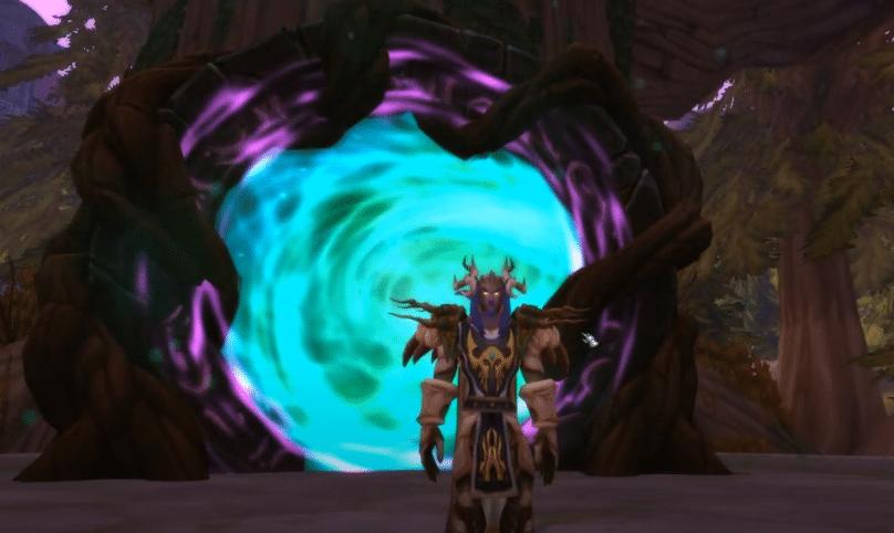 emerald dreamway portals not working WoW