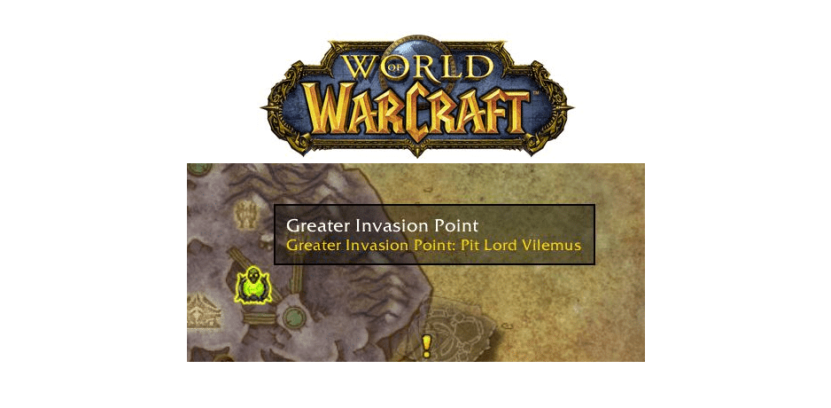 greater invasion point not showing up WoW